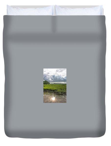 Island Duvet Cover by Margaret Palmer