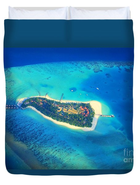 Island Of Dreams Duvet Cover