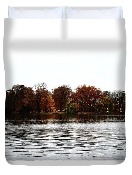 Island Of Trees Duvet Cover