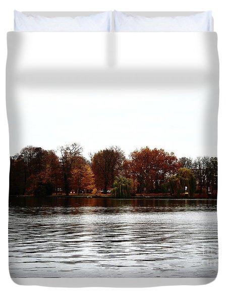 Island Of Trees Duvet Cover by Ana Mireles