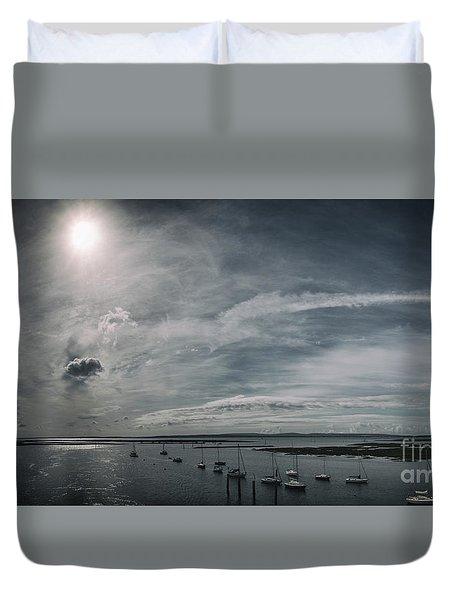Island Panorama Duvet Cover