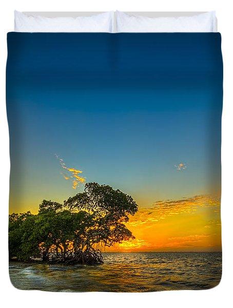 Island Paradise Duvet Cover