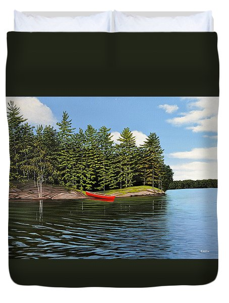 Island Retreat Duvet Cover