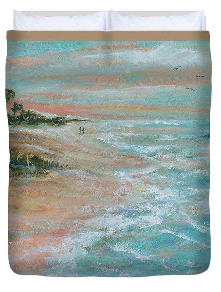 Island Romance Duvet Cover