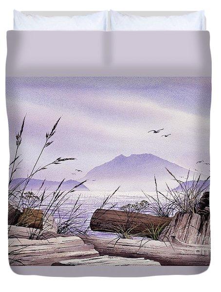 Island Splendor Duvet Cover by James Williamson