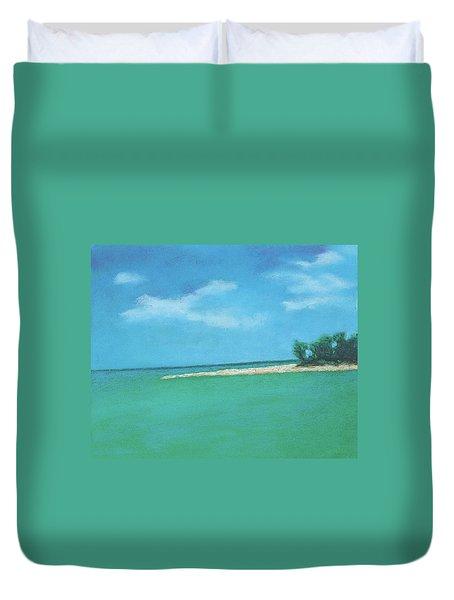 Island Time Duvet Cover