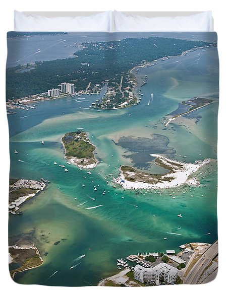 Islands Of Perdido - Not Labeled Duvet Cover