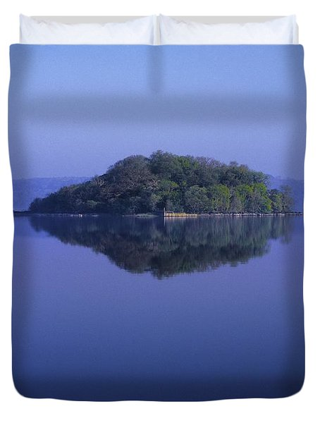 Isle Of Innisfree, Lough Gill, Co Duvet Cover