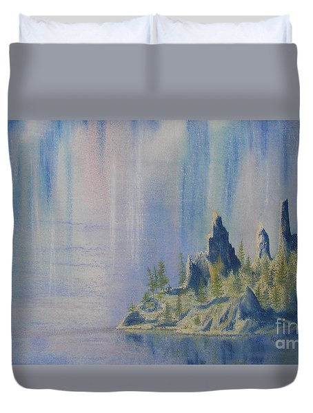 Isle Of Reflection Duvet Cover