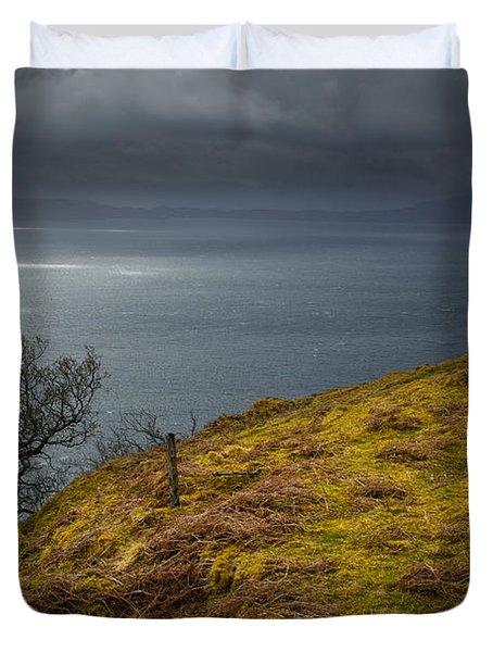 Isle Of Skye Views Duvet Cover