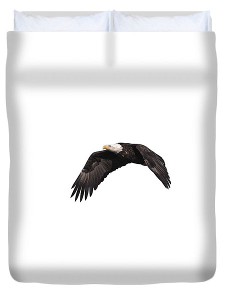 Isolated Eagle 2017-1 Duvet Cover by Thomas Young
