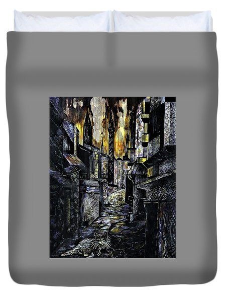 Istanbul Impressions. Lost In The City. Duvet Cover