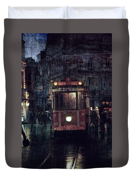 Istanbul Duvet Cover by Vittorio Chiampan