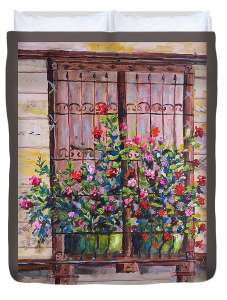 Istanbul Window Duvet Cover