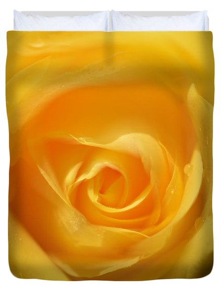It Is At The Edge Of The Petal That Love Waits Duvet Cover