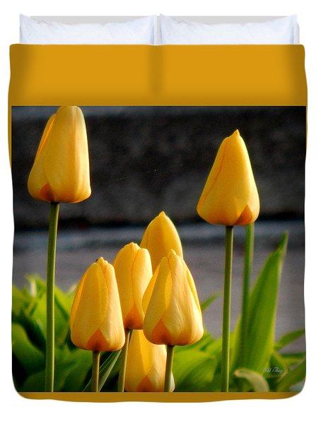 It Is Spring Duvet Cover