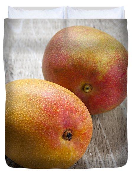 It Takes Two To Mango Duvet Cover