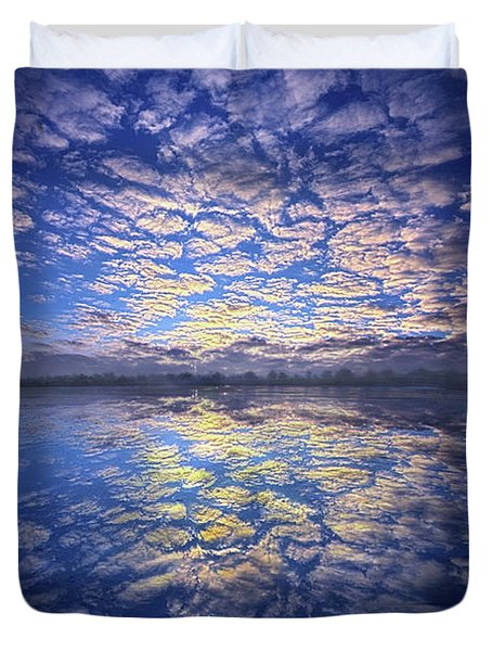 Duvet Cover featuring the photograph It Was Your Song by Phil Koch