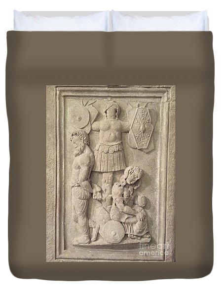 Italian Archeology Duvet Cover