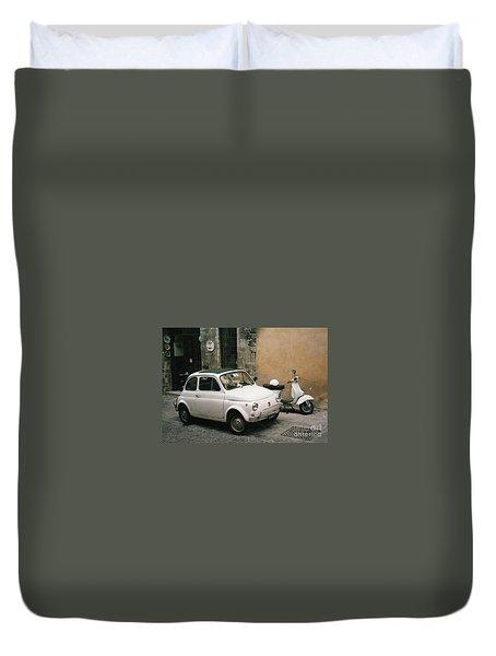 Italian Classic Commute  Duvet Cover