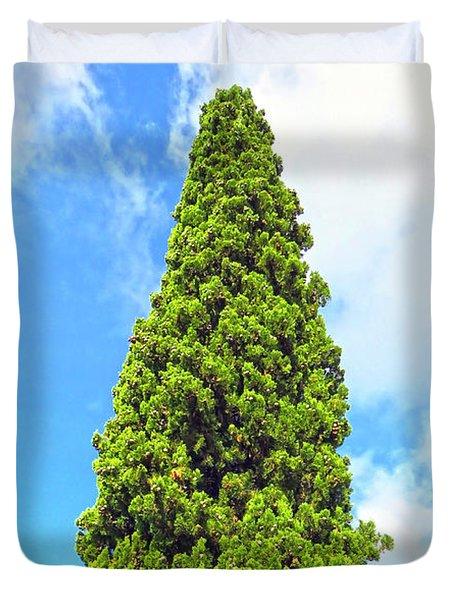 Italian Green Duvet Cover