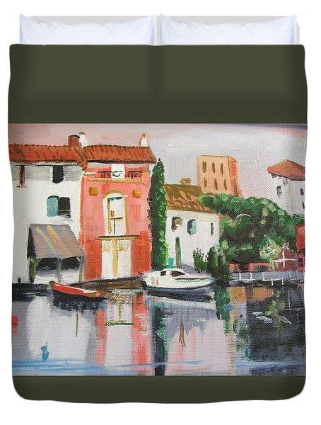 Italian Marina Duvet Cover