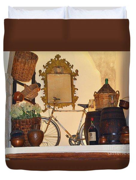 Italian Osteria Duvet Cover