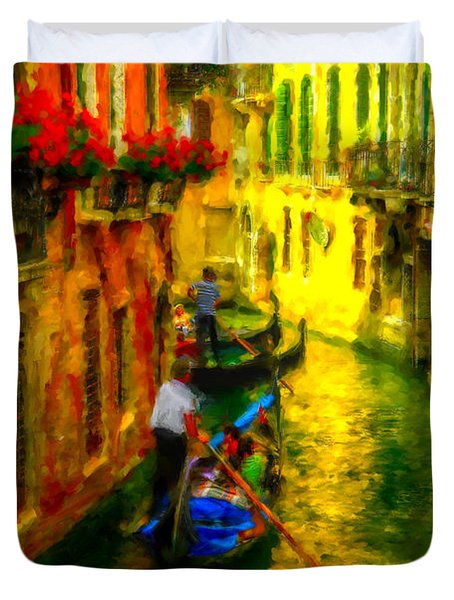 Italian Red Duvet Cover