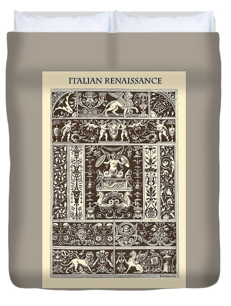 Italian Renaissance Duvet Cover by Italian School