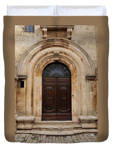 Italy - Door Eighteen Duvet Cover