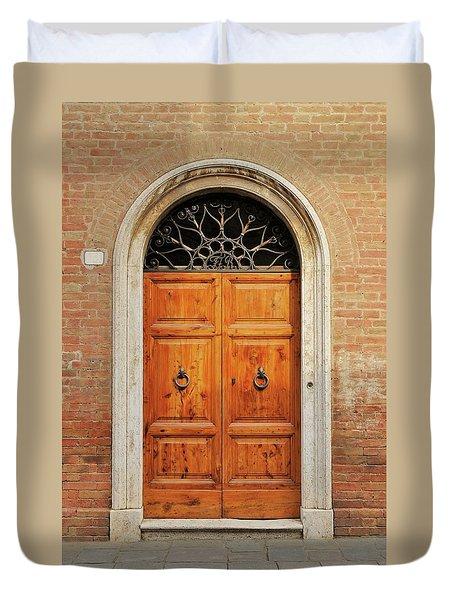 Italy - Door Fifteen Duvet Cover