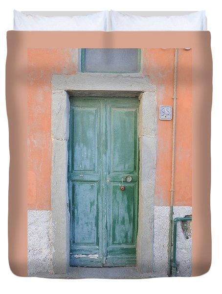 Italy - Door Five Duvet Cover