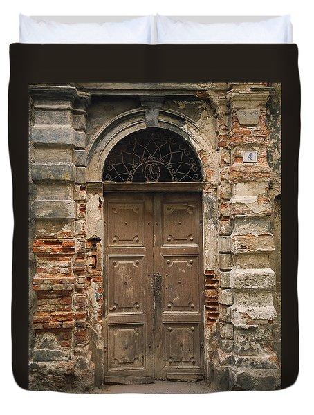 Italy - Door Four Duvet Cover