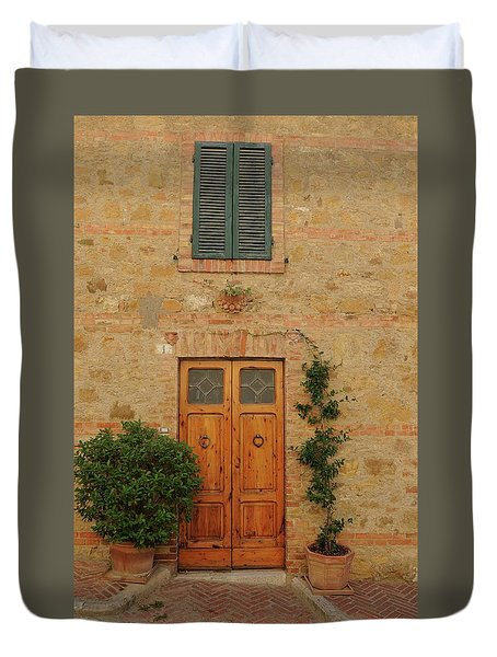 Italy - Door Nine Duvet Cover