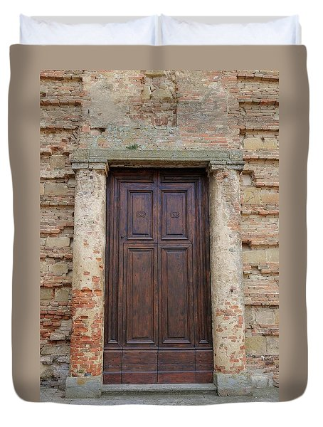 Italy - Door Nineteen Duvet Cover