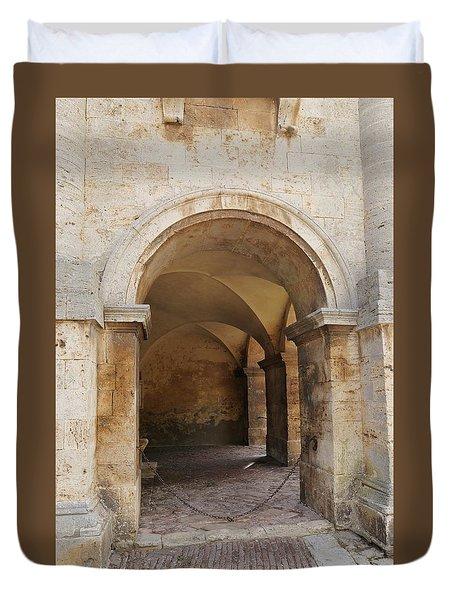 Italy - Door Sixteen Duvet Cover