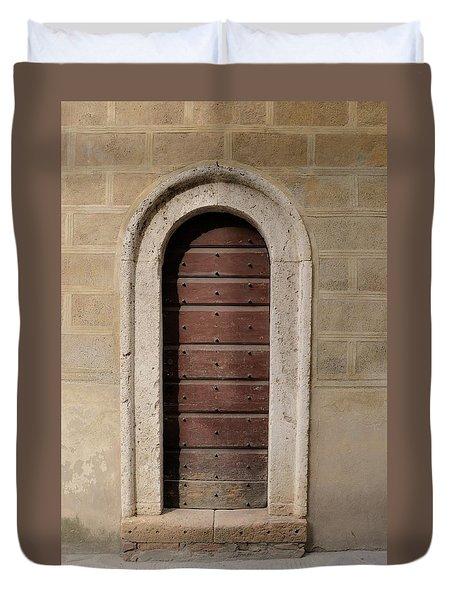 Italy - Door Ten Duvet Cover