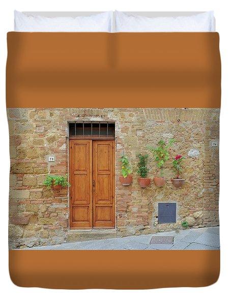 Italy - Door Twenty Duvet Cover