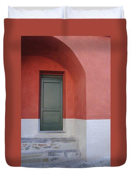 Italy - Door Two Duvet Cover