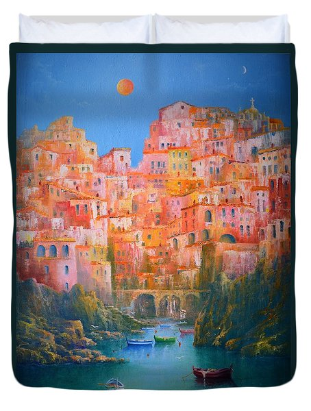 Impressions Of Italy   Duvet Cover