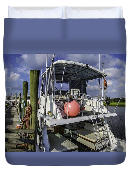 It's A Beautiful Day Duvet Cover by David Smith
