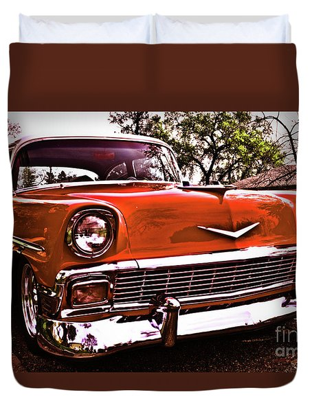 It's A Chevy Duvet Cover