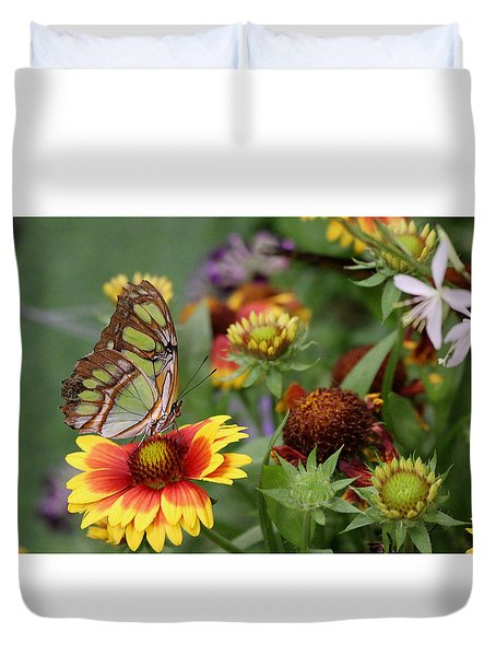 It's A Colorful World Duvet Cover