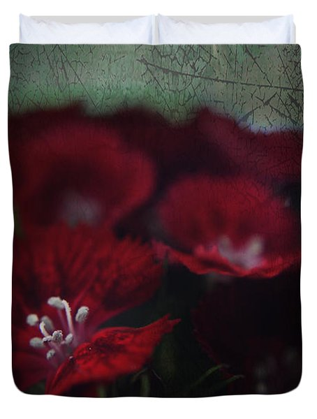 It's A Heartache Duvet Cover by Laurie Search