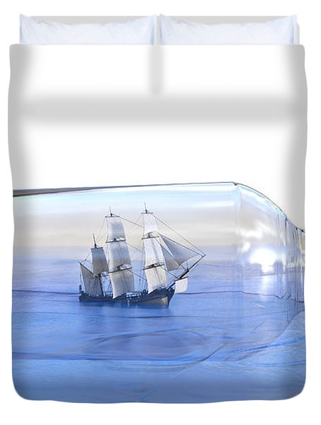 It's A Small World Afterall Duvet Cover