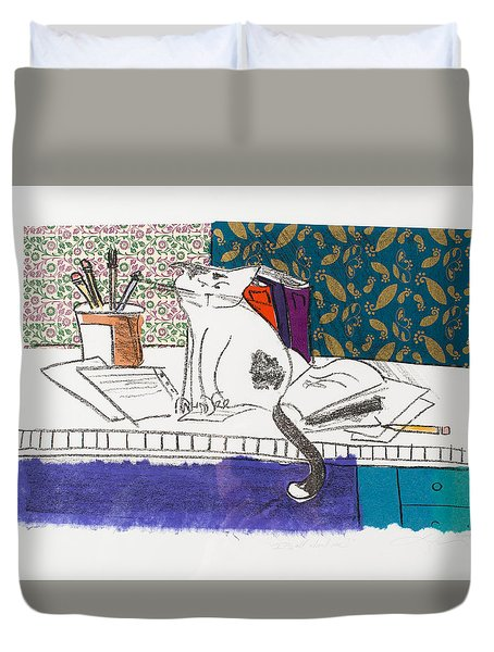 Its All About Me Duvet Cover