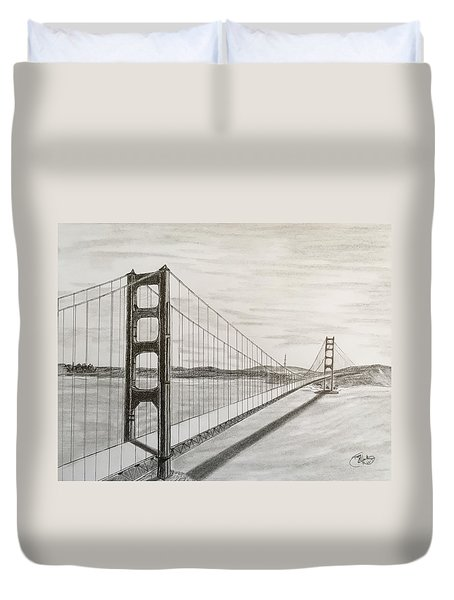 It's All About Perspective  Duvet Cover