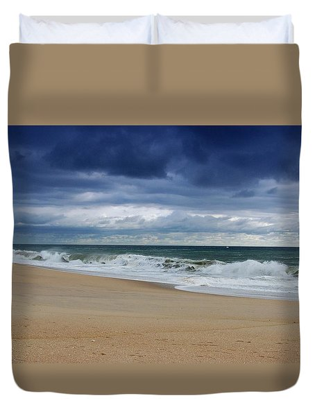 Its Alright - Jersey Shore Duvet Cover