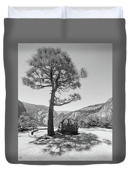 It's Between Them Duvet Cover by Ryan Weddle