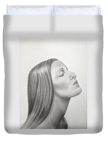 It's Coming Duvet Cover